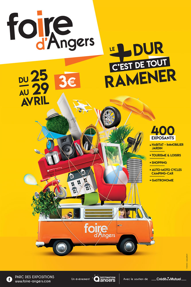 Affiche foire expo Angers