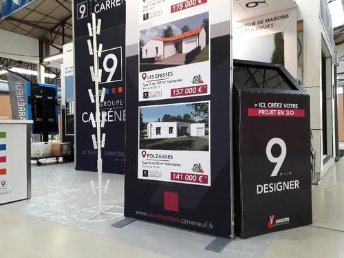 Stand CARRÉNEUF aux herbiers